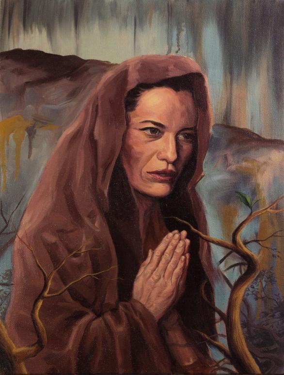 Prayer - Oil Painting