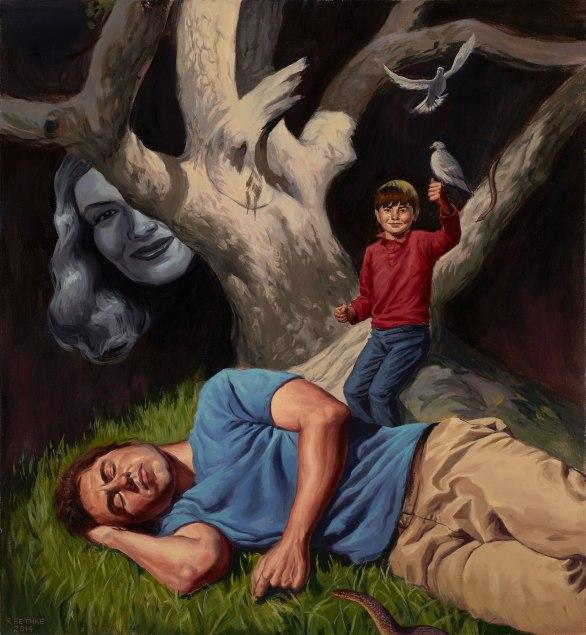 Sleep Ritual- Oil Painting
