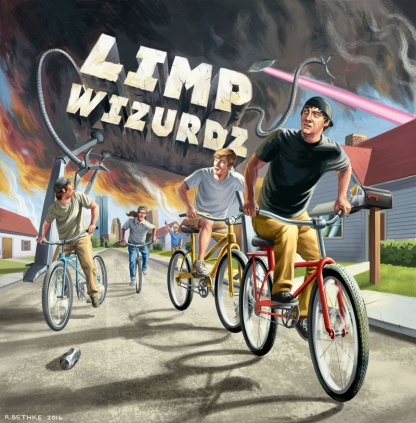 Limp Wizurdz Album Cover