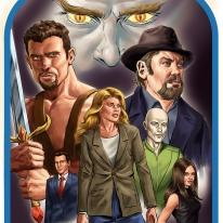 """Book Cover Concept """"Fan Fiction Bible"""""""